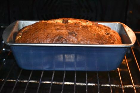 Baking away