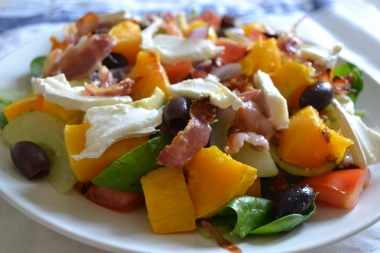 Butternut & Goats Cheese Salad