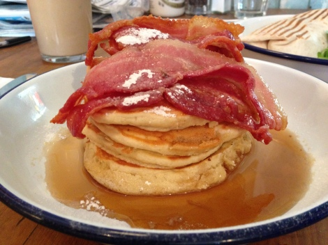 Breakfast Club pancakes
