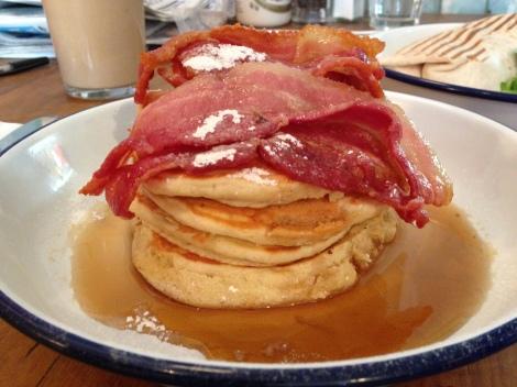 Breakfast Club pancakes