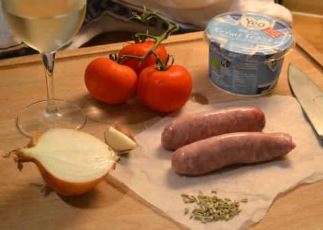 Sausage & fennel pasta sauce