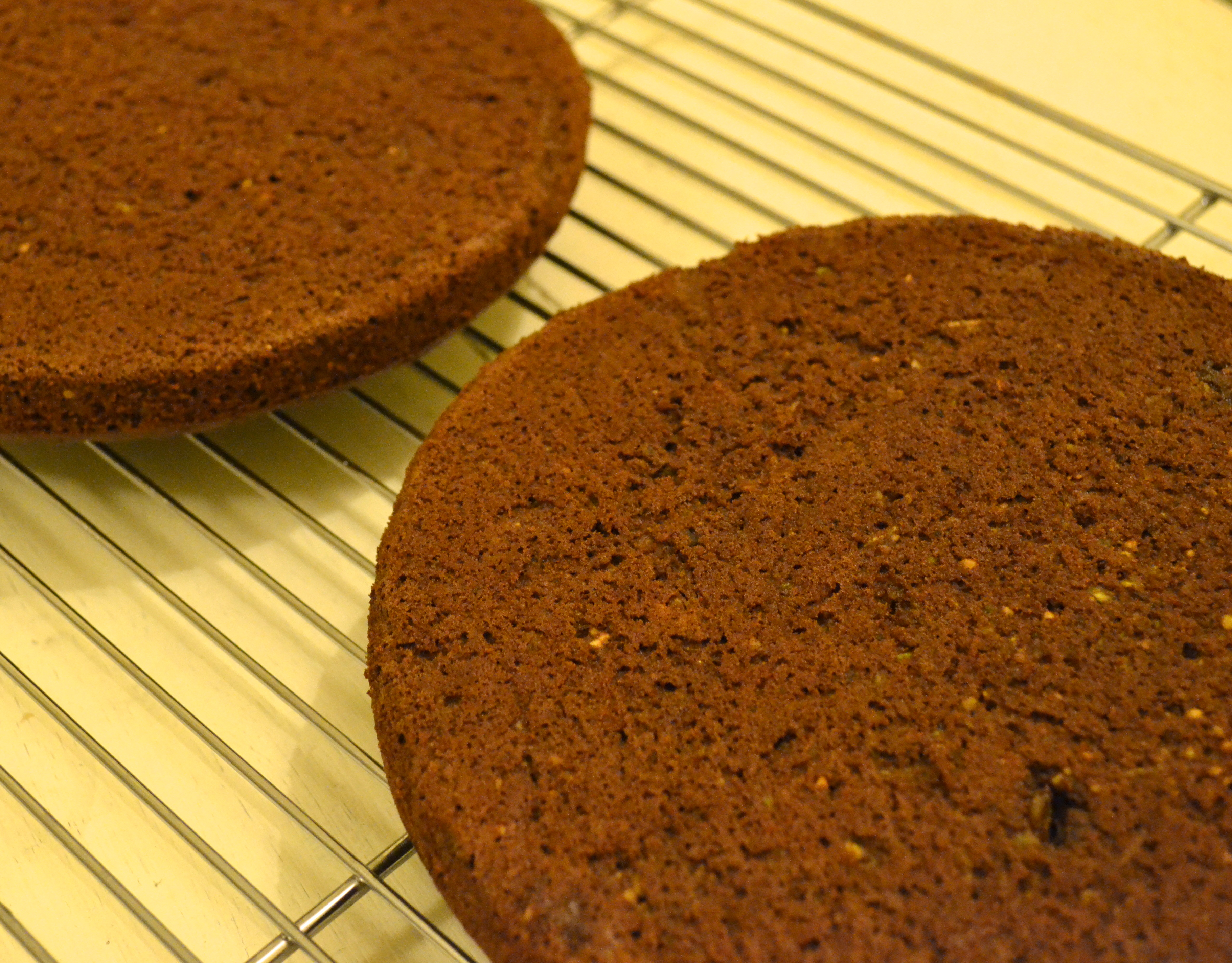 Moist Chocolate Courgette Cake