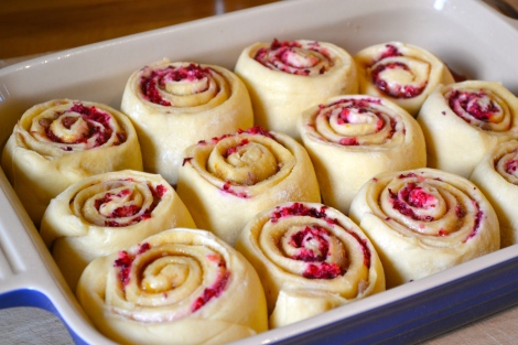 Cranberry & Orange Breakfast Buns