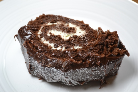 Chocolate & Chestnut Yule Log