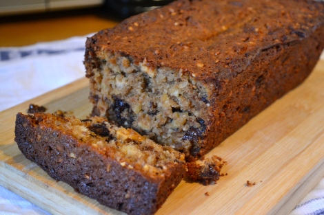Nutty Apple Loaf