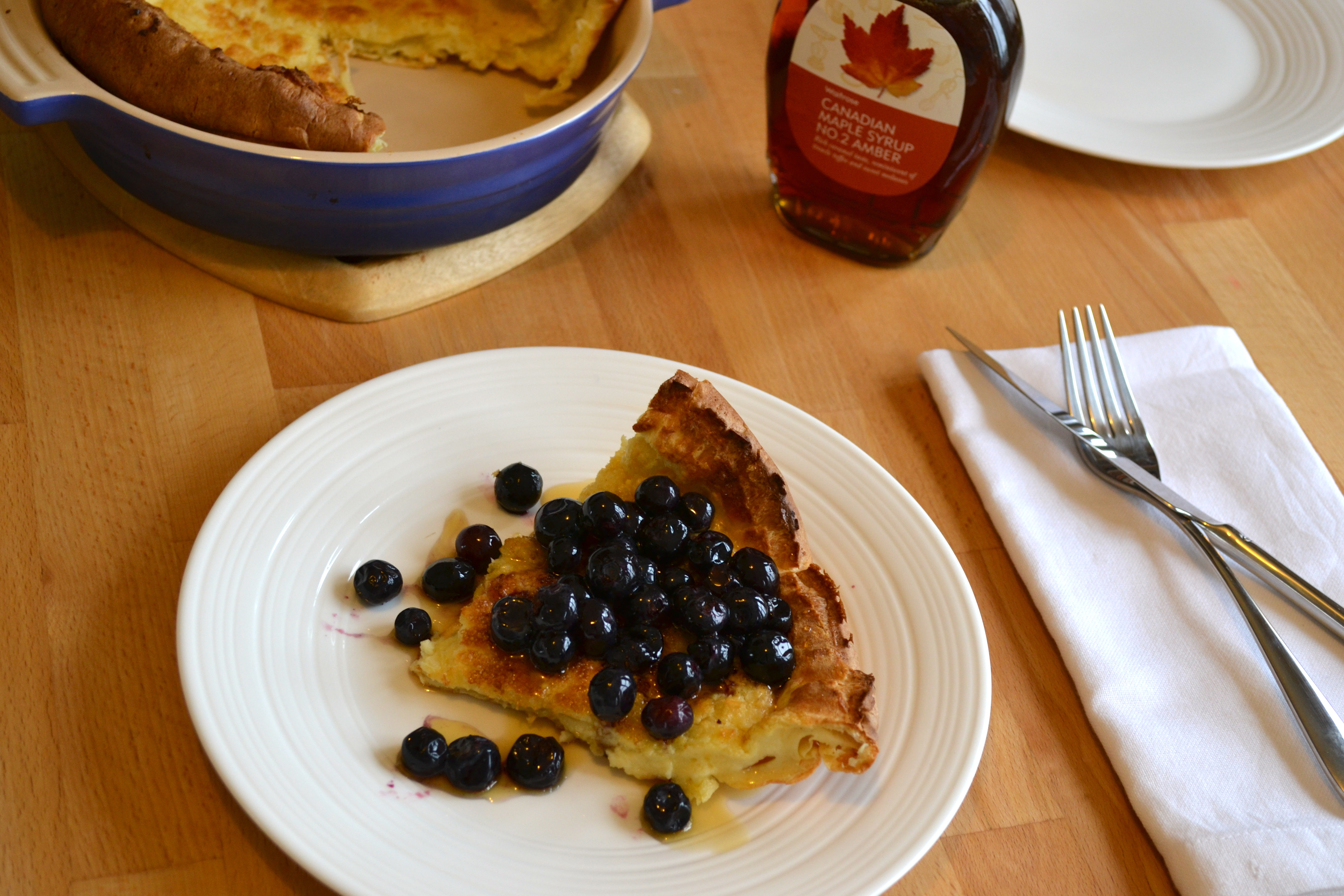 Adapted from Joy The Baker's Dutch Baby with Orange Sugar