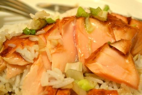 Mirin Glazed Salmon