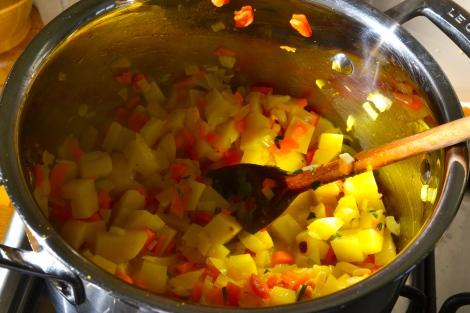 Kale, Butterbean & Orange Soup