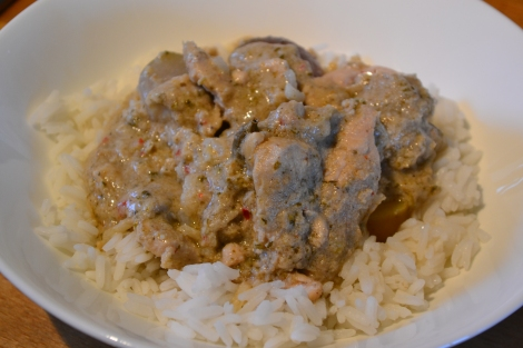 Mussaman Chicken Curry