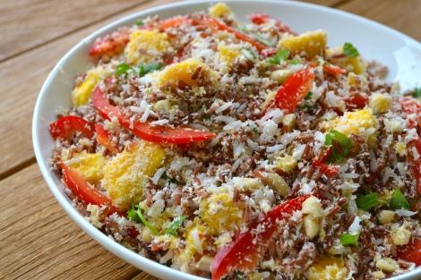Mango & Coconut Rice Salad