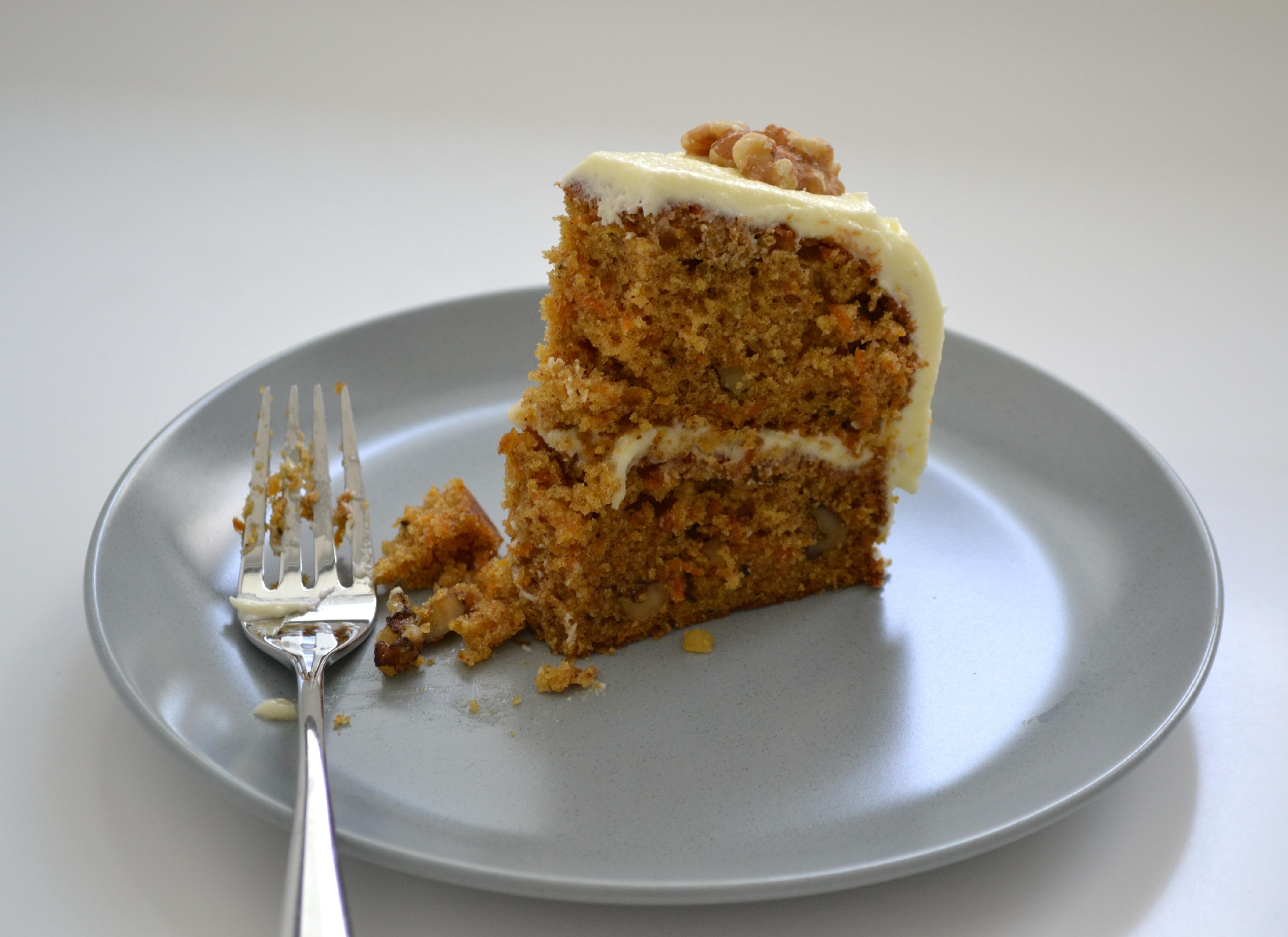 Hummingbird Bakery S Carrot Cake The Perky Pancake