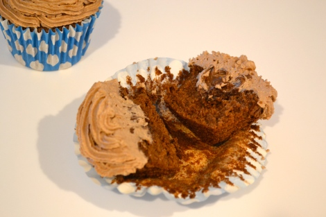 Hummingbird Bakery's Nutella Cupcakes