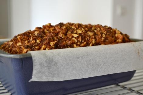 Ottolenghi's Walnut & Halva Cake