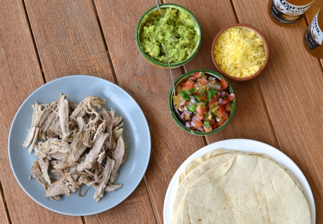Mexican Pulled Pork Wraps