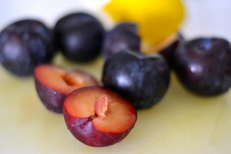 Purple Plum Torte