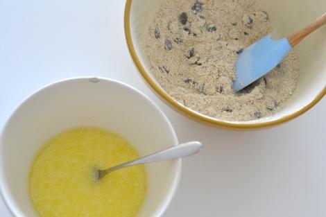 Pistachio, Chocolate Chip & Orange Muffins