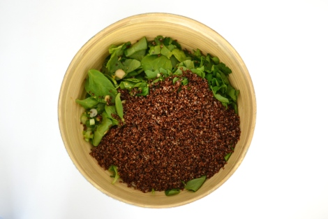 Green Quinoa Salad